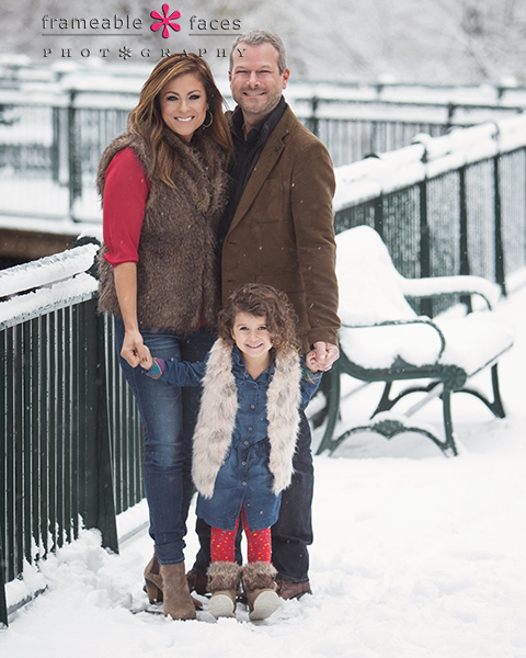Snowy Family Session