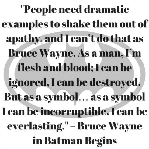 Bruce Wayne Quote