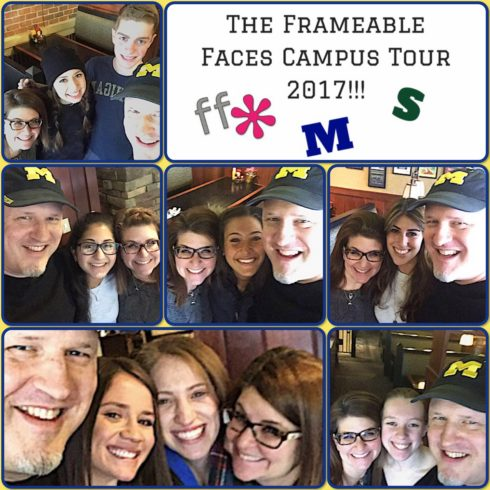 2017 Frameable Faces Campus Tour